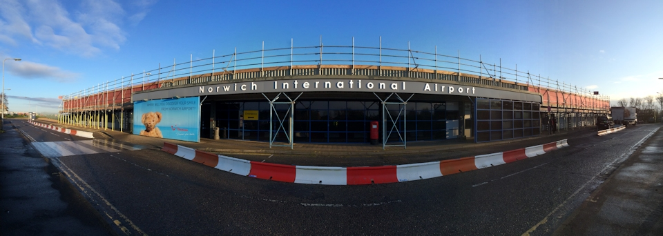 BDC Scaffolding at Norwich Airport