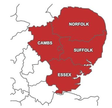 BDC covers Norfolk, Suffolk, Essex and Cambridgeshire