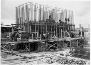 Vimy Memorial Scaffolding